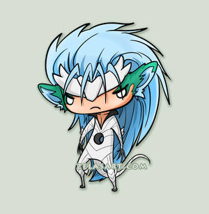 Chibi Grimmjow Commission