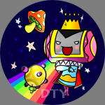 SD Buttons: King of All Cosmos by zelas