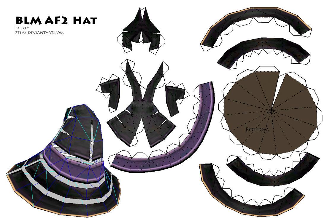 FFXI Black Mage hat 2 by zelas