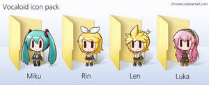 Vocaloid Icon Pack