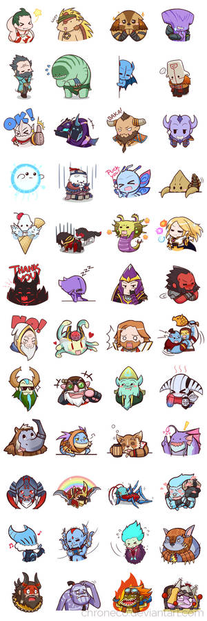 Dota2 Sticker - Compilation