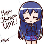 Happy Birthday Umi!