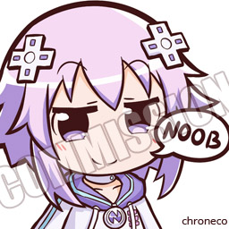Commission - Nep Nep by chroneco on DeviantArt