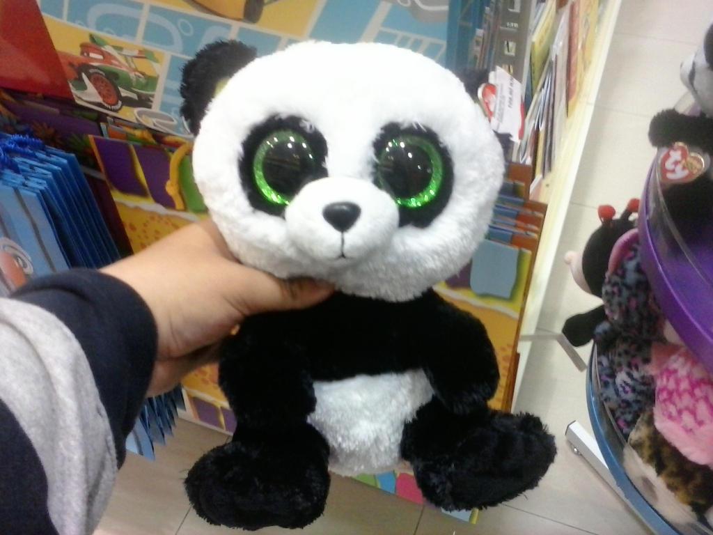 Ty Beanie Boo Bamboo The Panda Plush By Pokemonosterfanzg 4e0cf6f2529a