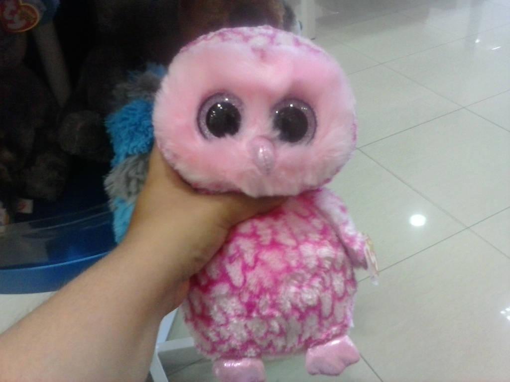 TY BEANIE BOO Pinky The Owl Plush by PoKeMoNosterfanZG on DeviantArt 9172034abbe8