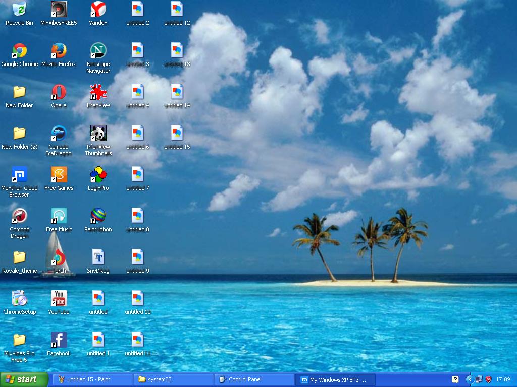 Azul Windows Xp