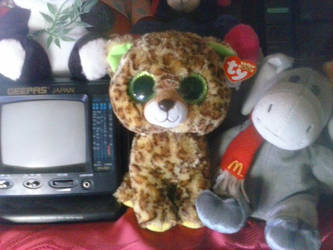 My TY Beanie Boo Speckles The Leopard Plush 45 by PoKeMoNosterfanZG
