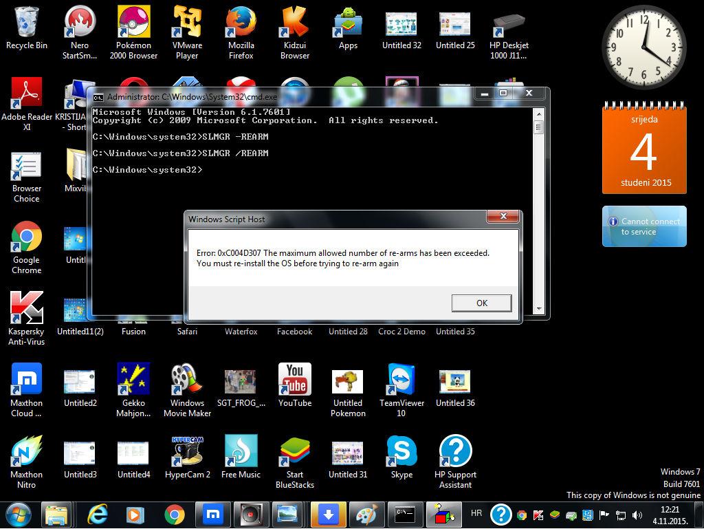 Cmd error 5 fix windows 7