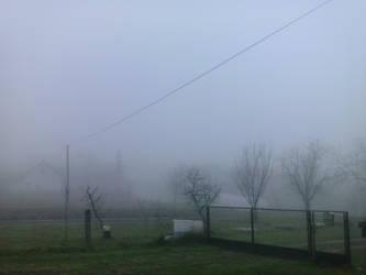 Foggy in Gornji Prnjarovec by PoKeMoNosterfanZG