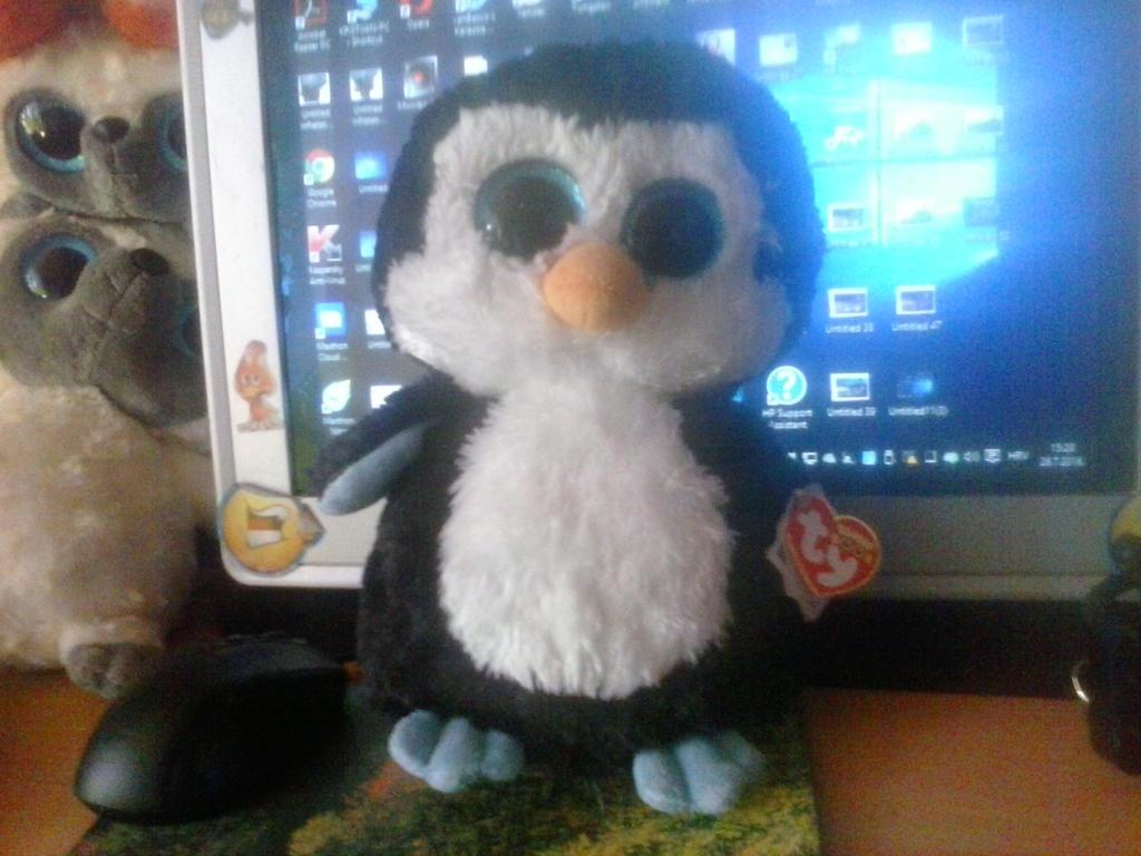 a7cc6e31b4c My TY Beanie Boo Waddles Penguin Plush by PoKeMoNosterfanZG on ...