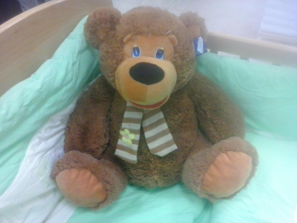 Giant Teddybear Plush 25 by PoKeMoNosterfanZG