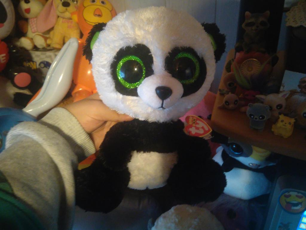 My Ty Beanie Boo Bamboo Panda Plush 223 By 46fb7a609ef8