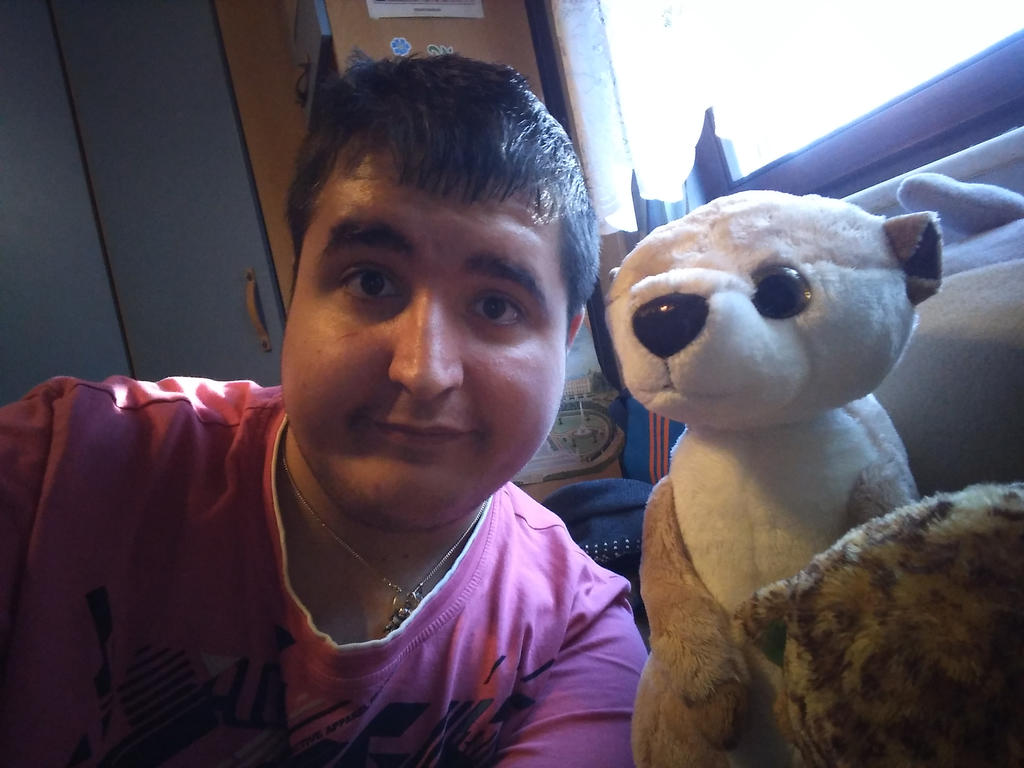 Me and My Large Nici Meerkat Plush by PoKeMoNosterfanZG