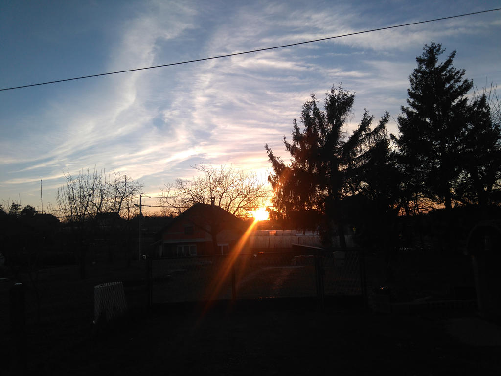 Sunset View in Prnjarovec 55 by PoKeMoNosterfanZG