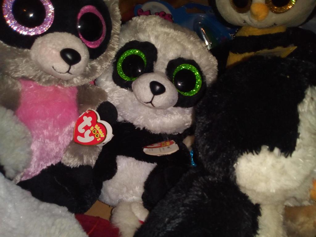 9fb6be1aad6 Ty Beanie Boo Panda Bear   My Ty Beanie Boo Bamboo Panda Plush 269 By –  Home design