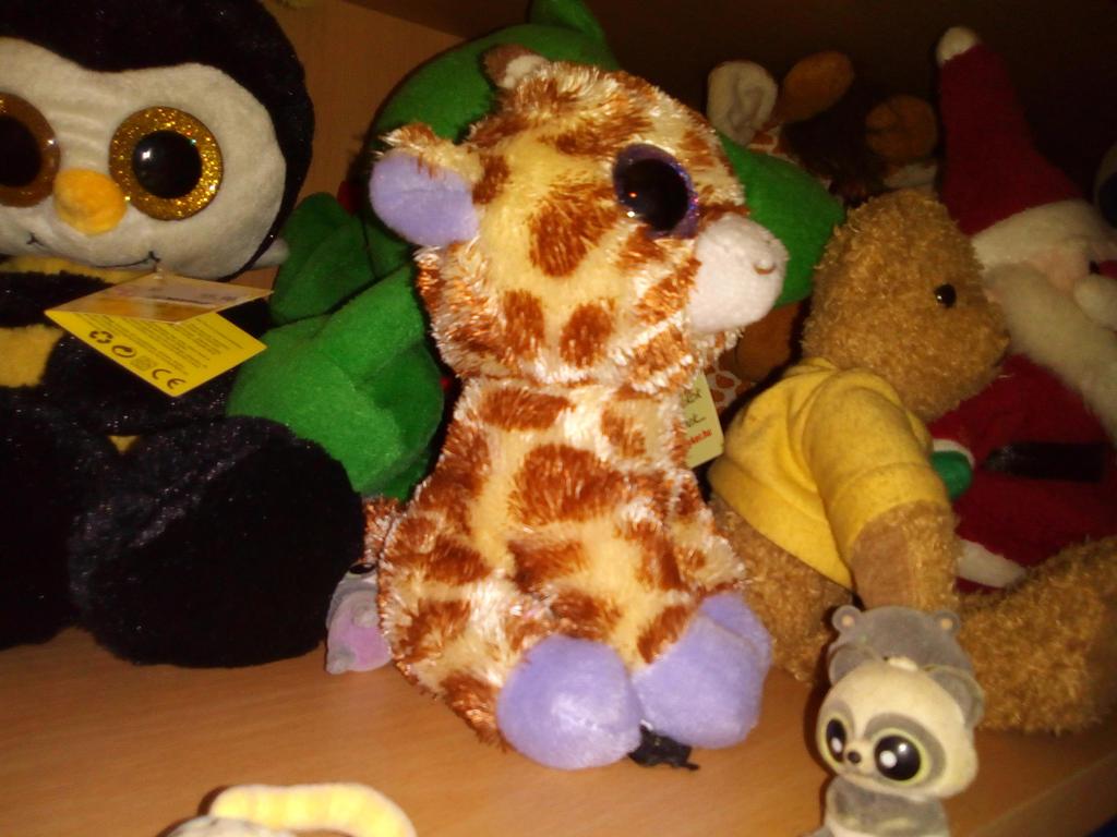 my small beanie boo safari giraffe plush 48 by pokemonosterfanzg on