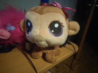 My LPS Monkey Plush 3 by PoKeMoNosterfanZG