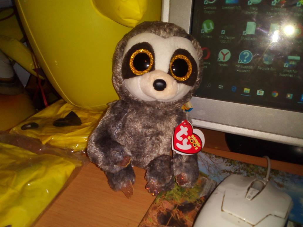 My TY Beanie Boo Dangler Sloth Plush by PoKeMoNosterfanZG on DeviantArt d246132dbb6b