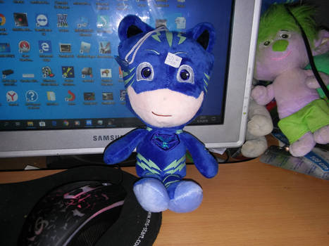 My Chinese Darkblue PJ MASKS Catboy Plush
