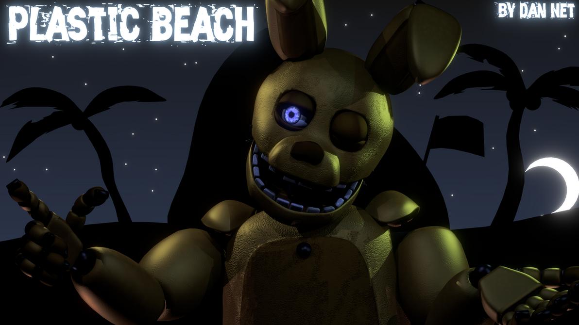 Plastic Beach(Poster) by DaniilNetwork