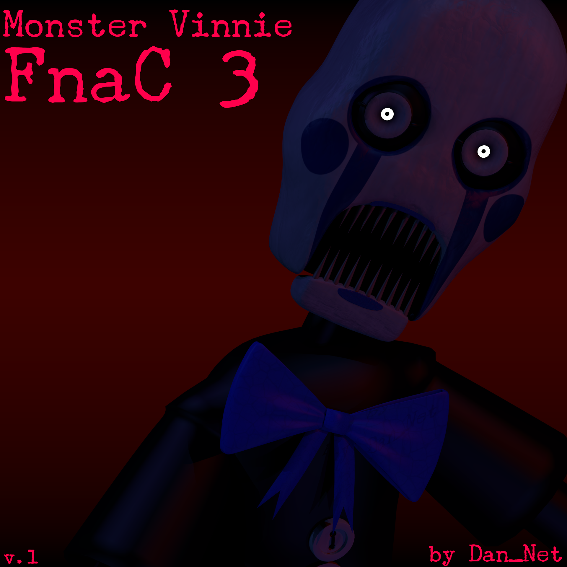 Monster Vinnie from FnaC 3 by DaniilNetwork on DeviantArt