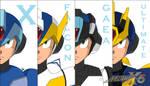 Megaman X5 (armors)