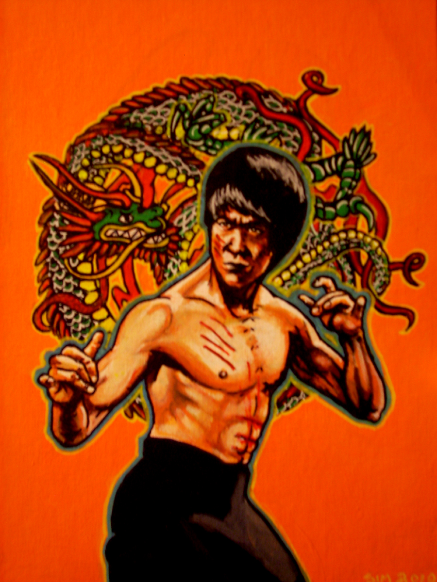 Bruce Lee Enter The Dragon By Asamamoru On Deviantart