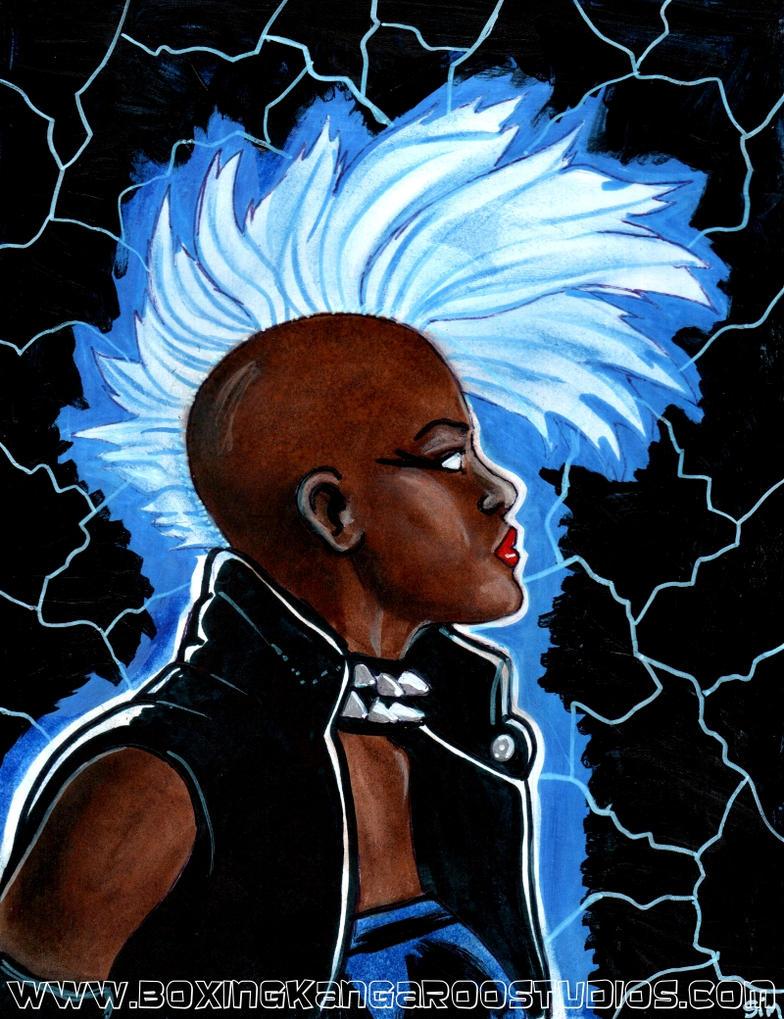 Mohawk Storm by asamamoru