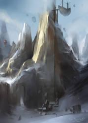 Sneem's Wand Peak by pankratiev