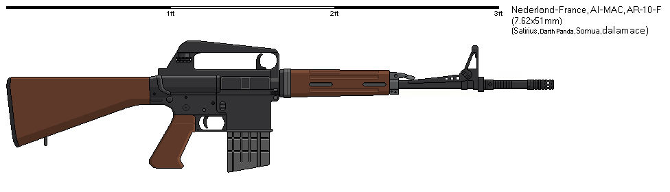 Gunbucket What if - AI-MAC AR 10