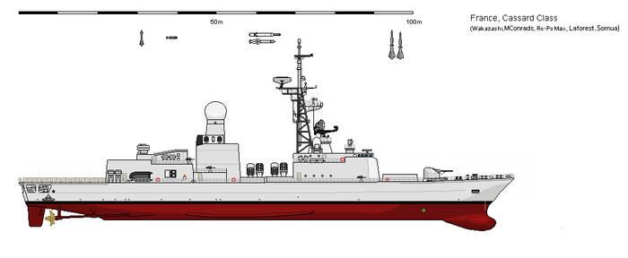 Shipbucket - What if - Cassard Class frigate