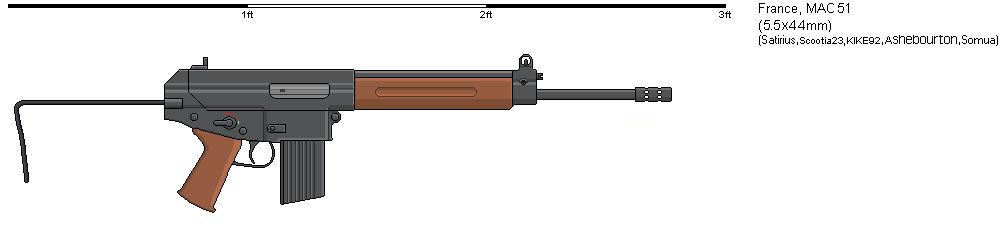 Gunbucket - What if - MAC 51 carbine