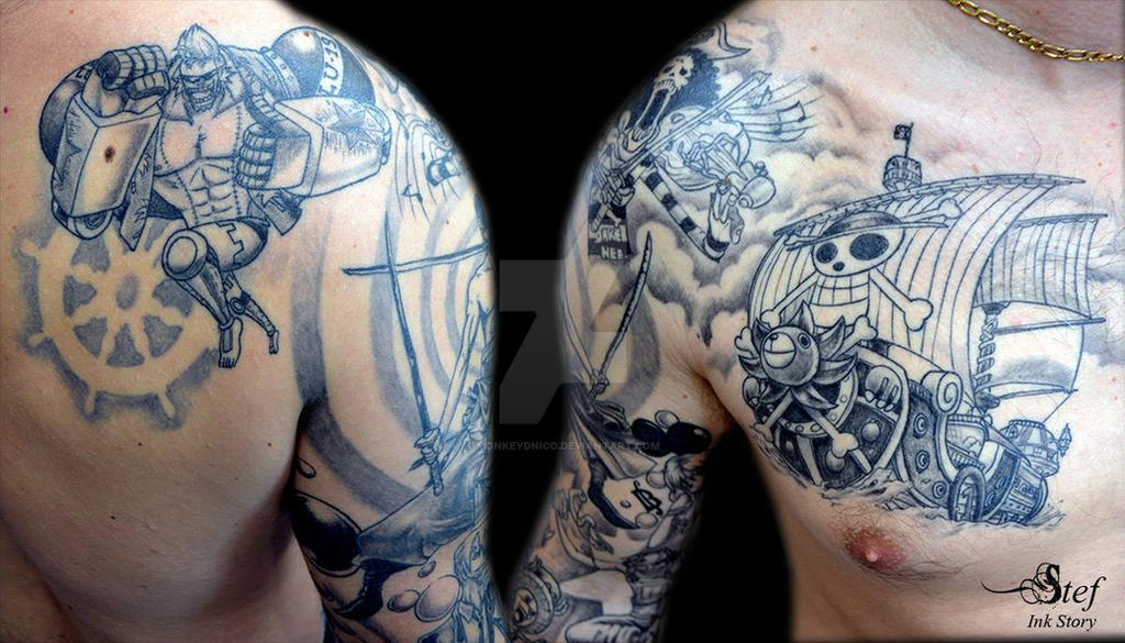 One Piece Hand Tattoo: My One Piece Tattoo 2 By MonkeyDNico On DeviantArt