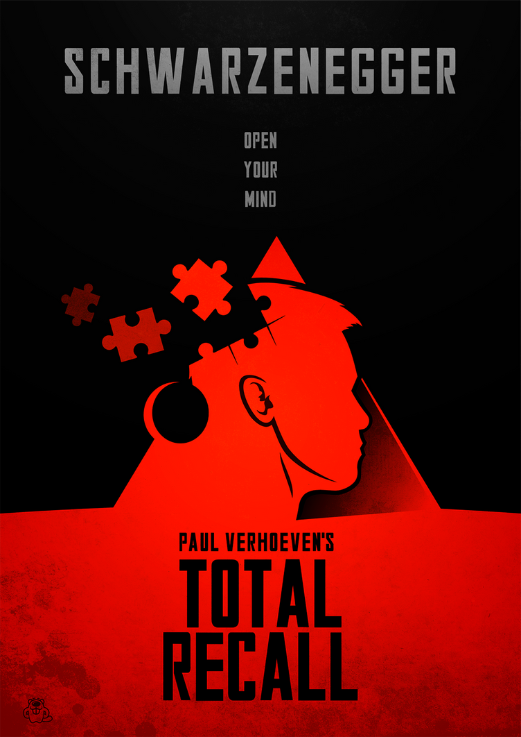 Total Recall Poster by mightybeaver
