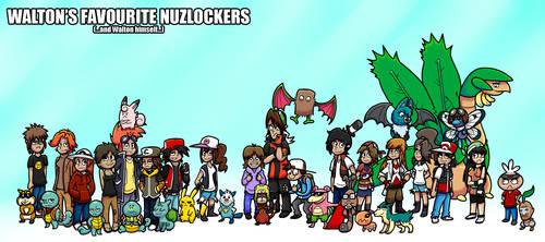 Walton's Favourite Nuzlockers by DSWalton