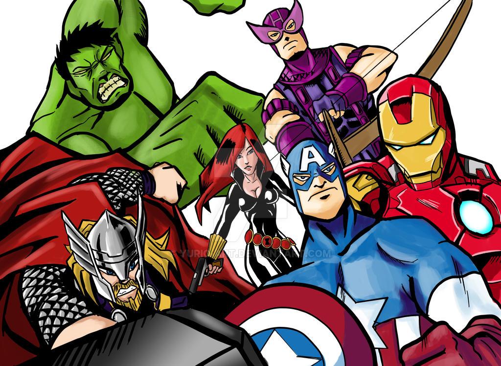 Avengers by Yurio-Art