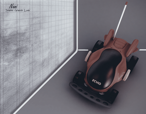 Echo - Remote Toy Car at Showroom