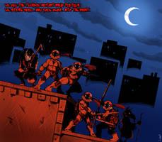 Teenage Mutant Ninja Turtles by JimSam-X