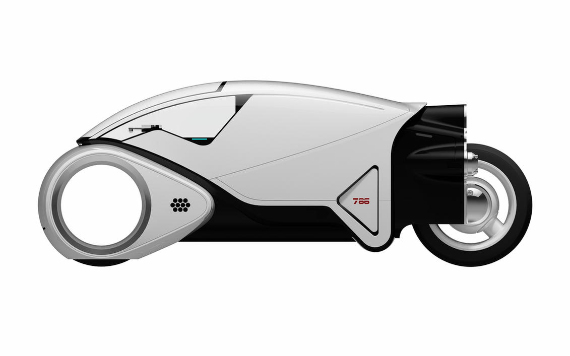 TRON Legacy Lightcycle 2nd generation by telejunky