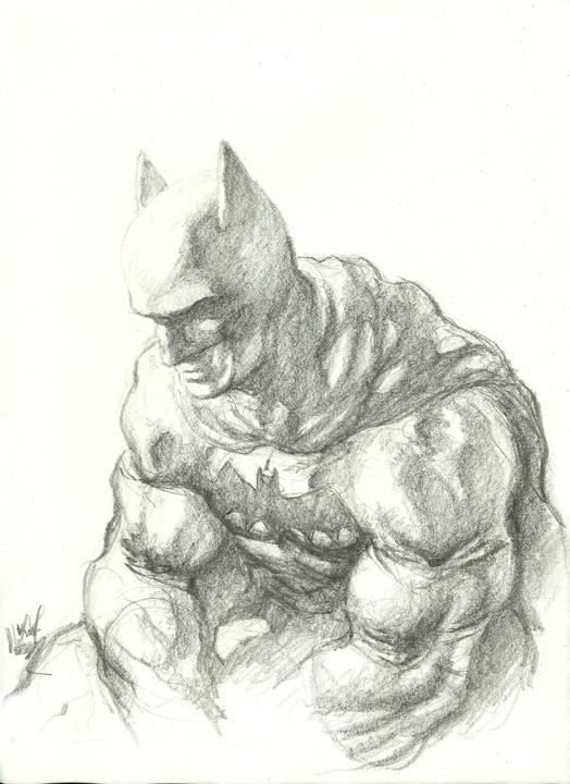 easy drawings epic Batman DeviantArt by on Sketch MegaPixxel