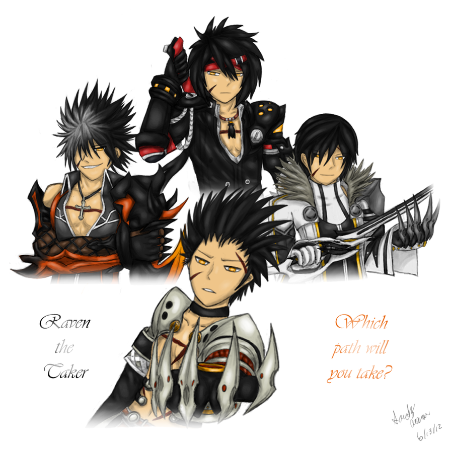 elsword raven the taker old by galespider on deviantart