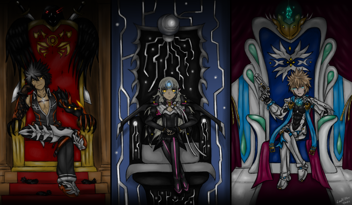 Elsword: Royal Thrones by GaleSpider