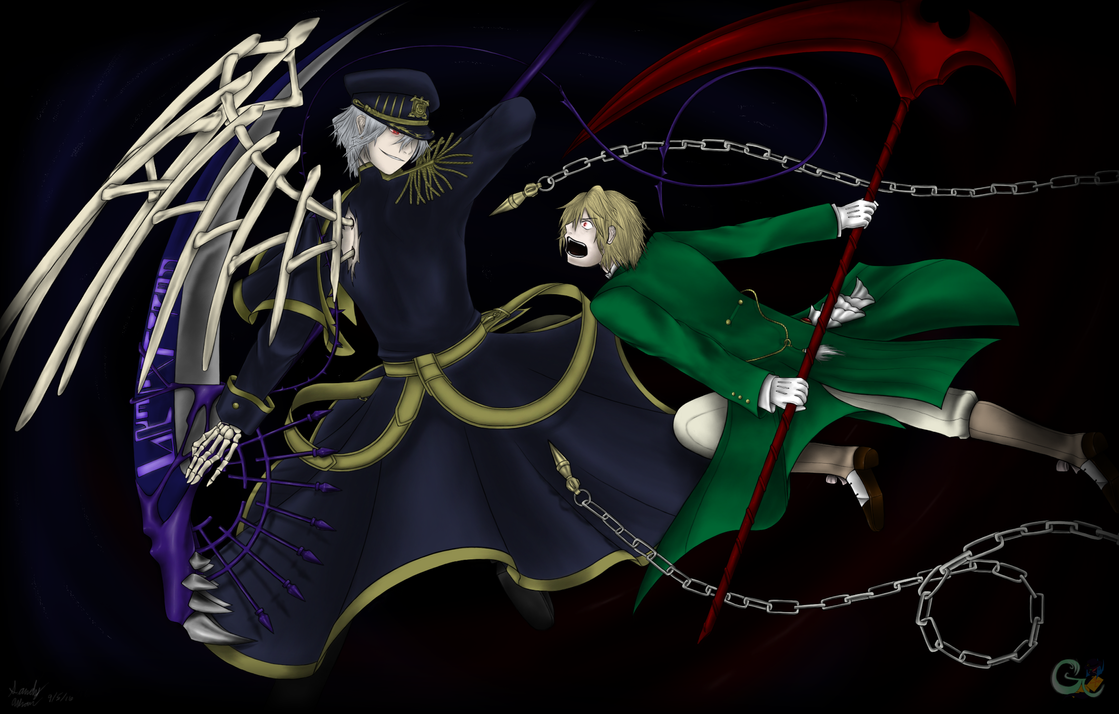 Crossover - Blood and Darkness by GaleSpider