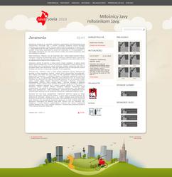Javarsovia website redesign