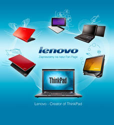 Lenovo fan page welcome screen