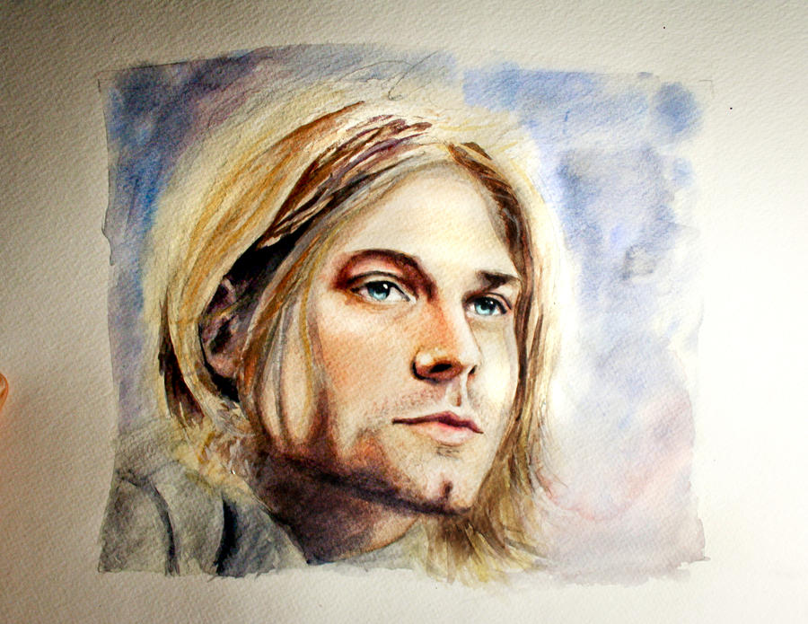 Kurt Cobain of Nirvana by LaurenJohnson94