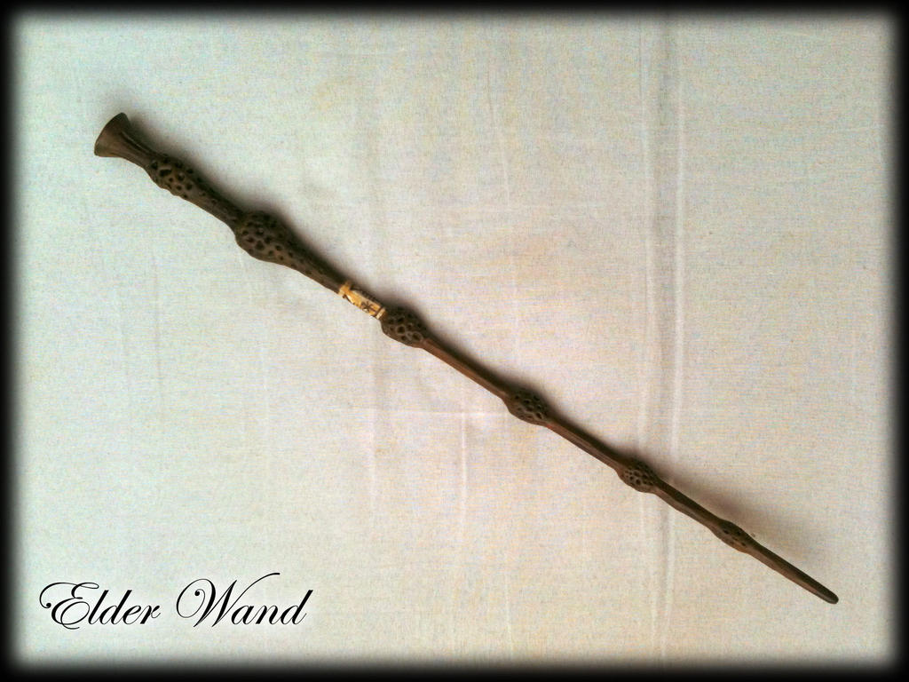 My harry potter wands for Harry potter elder wand replica