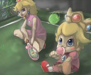 Bouncing tennis by kango67