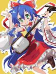 Konata cosplay - Reimu