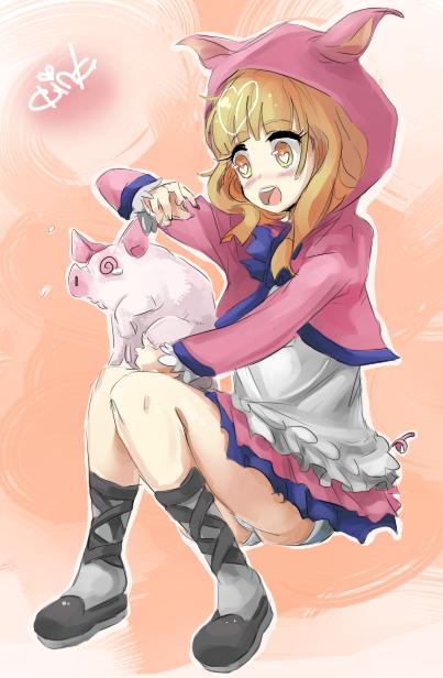 Sonata pig - oink by kango67